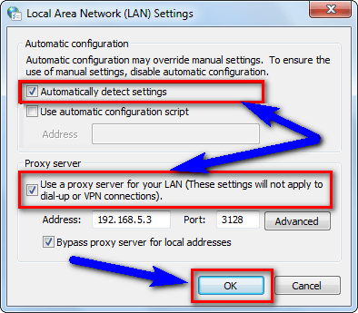 Fix or Setup Local Area Network Settings