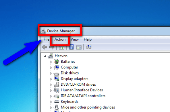 Fix by Enabling Device Manager