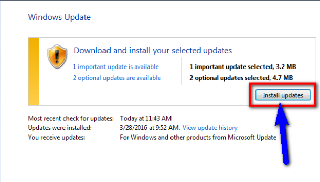 Install and Update all the new available Drivers