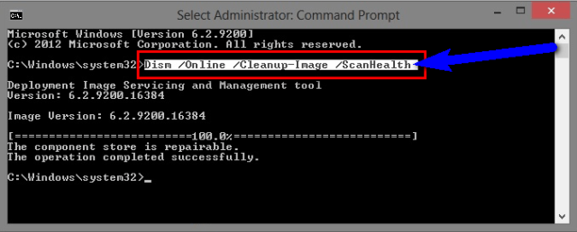 Run System Update Readiness Command