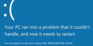 HAL_INITIALIZATION_FAILED