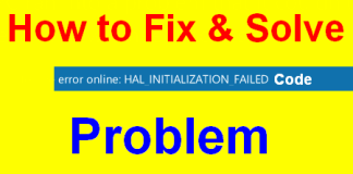 HAL_INITIALIZATION_FAILED