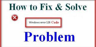 Error 126