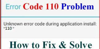 Error 110