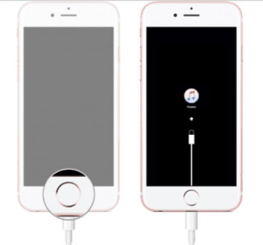 Run Recovery Mode in iPhone