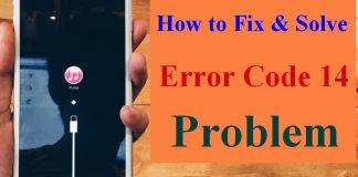 Error Code 14