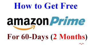 Free Amazon Prime Subscription