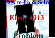 Error 4013