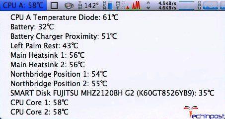 Check your Mac's Temperature
