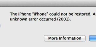 Error 2001