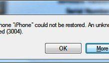 Error 3004