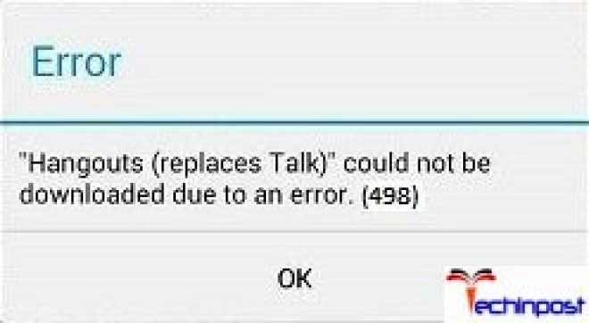 FIXED] Google Play Error 498 Android Smartphone Device Issue
