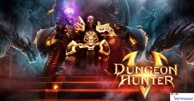 Dungeon Hunter 5 Best Free RPG Games for iPhone