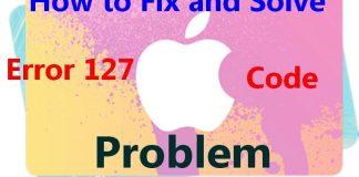 Error 127
