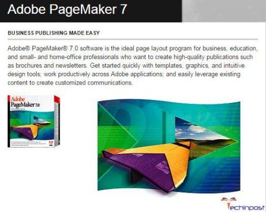Reinstall the Adobe PageMaker