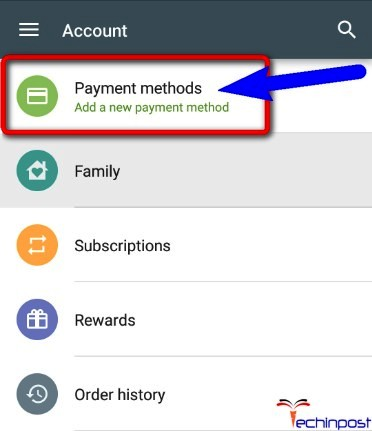 dd a New Payment Method there in Google Play Store DF-DLA-15