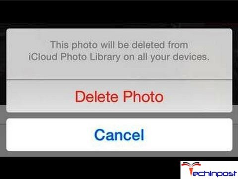 Delete Synced Photos from iPhone