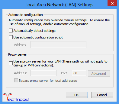 Disable Proxy Server during Windows Update Windows Update Error 80072ee2