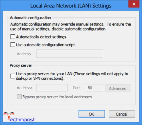Disable Proxy Server during Windows Update