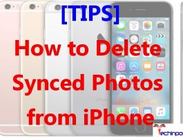 How to Delete Synced Photos from iPhone