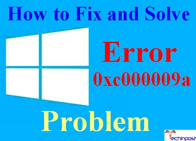 This Application Was Unable To Start Correctly 0xc000009a