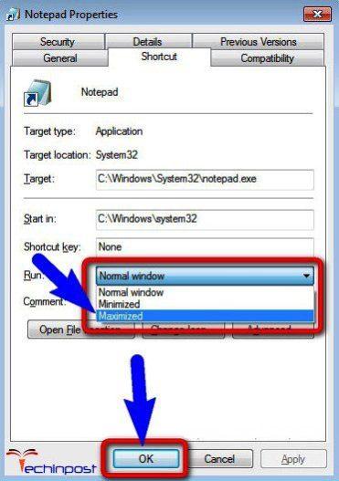 How to make Windows programs open as full screen