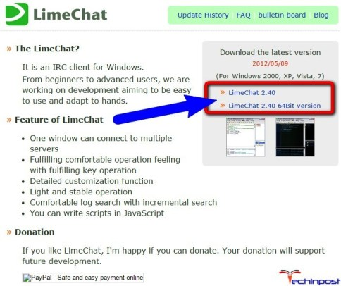 LimeChat (Chinese Software)