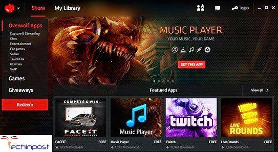 Overwolf Twitch Streaming App