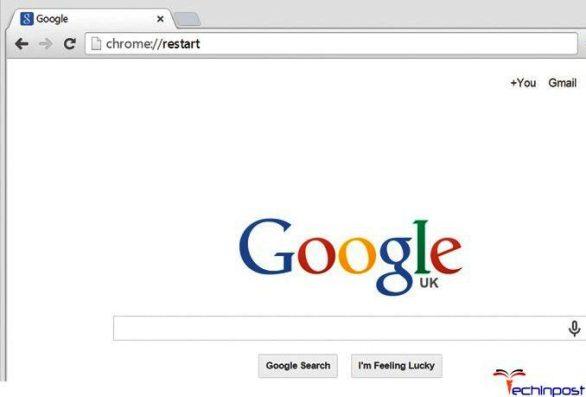 Restart your Internet Browser