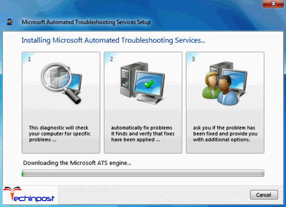 Run the Microsoft Automated Printer Troubleshooter Windows Cannot Connect to the Printer