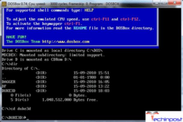 DOSBox (GNU General Public License)