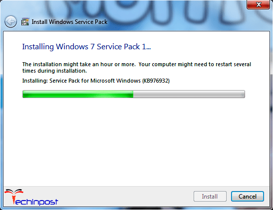 Install a Service Package on your Windows PC