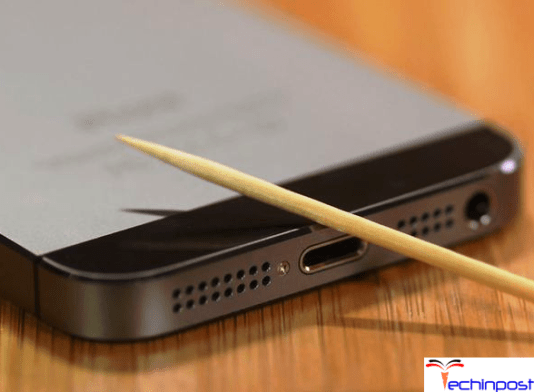 Remove Dust from the Cable & the Charging Port