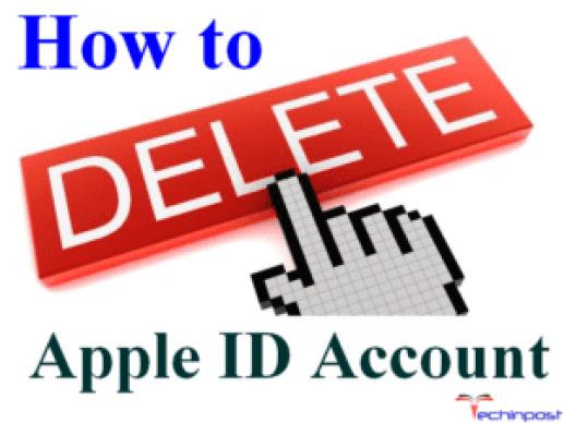Delete Apple ID Account