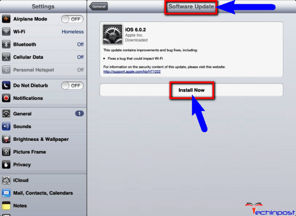 Update IOS System Software
