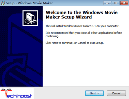 Double click on the downloaded setup file windows-movie-maker.exe and then click 'Yes' in order to let the setup package run