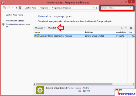 Updating the Lenovo Package Dependencies Software