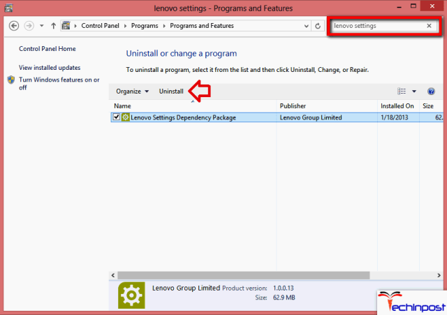 Updating the Lenovo Package Dependencies Software Lenovo Camera Not Working