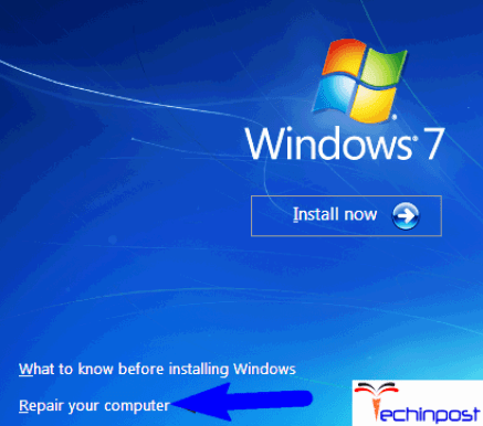 Use Command Prompt for Reinstalling