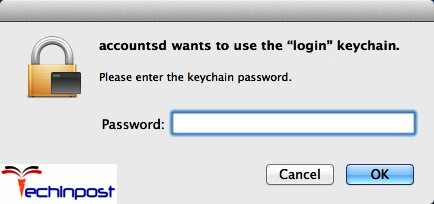 fix keychain issues sierra