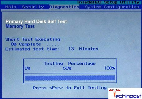 Checking Hard Disk Failure