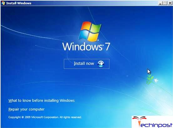 Reconstruct MBR with Windows Installation Disk or Repair Disk