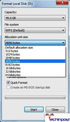 Reduce the Size of your HDD Disk Space & then Format it
