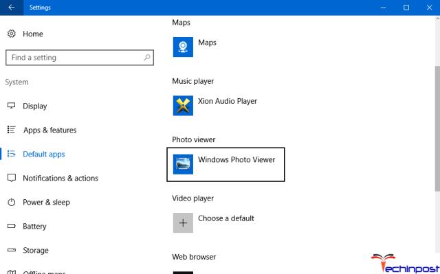 Set Windows Photo Viewer as the Default Image Viewer Class Not Registered