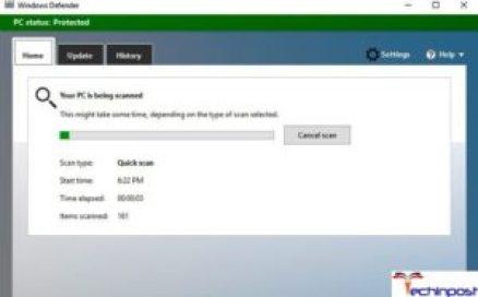 Conducting a Full Malware Scan