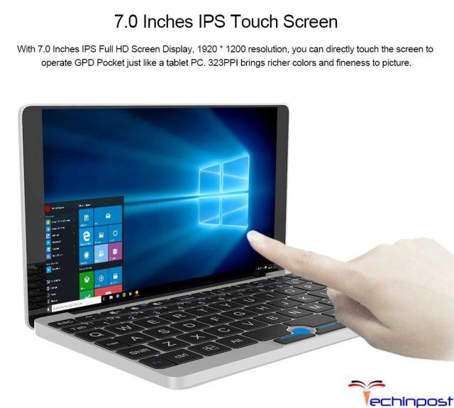 GPD Pocket Mini Screen Resolution