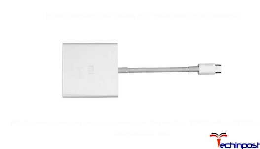 Xiaomi Air 13 Ports and Jacks