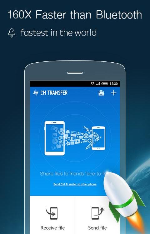 Phone to Phone Transfer App #2: CM Transfer