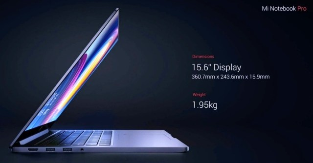Xiaomi Mi Notebook Pro Display