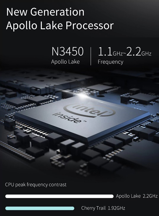 Jumper EZpad 6 Plus Processor